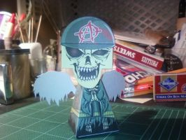 Angel of Death front by SCroman