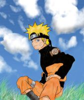 naruto n.n coloured by LisaFeary