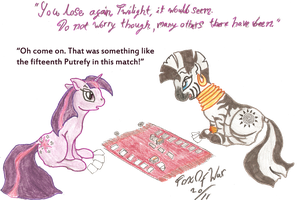 Twilight, Zecora, Magic... by FoxOFWar