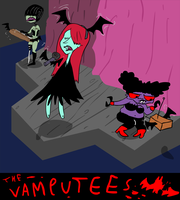 The Vamputees by EggHeadCheesyBird