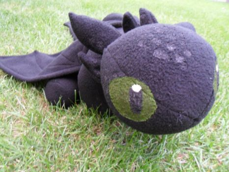 Chibi Toothless by Noellisty