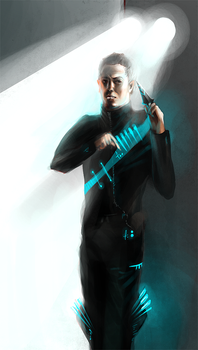Scifi Assassin by WhatICantDo