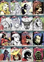 Marvel Masterpieces III Set 5 by RAHeight2002-2012