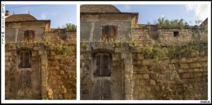 Old City Wall by pery