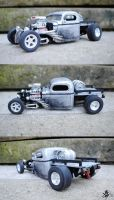 41 chevy hot rod truck model by RedlineGearhead