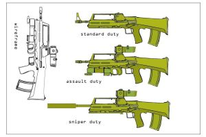 assault rifle designs by Loki-god-of-malice