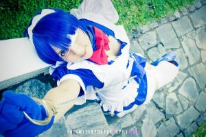 Ryomou Shimei - Ikki Tousen / Battle ver. 2 ~ by Inoshindashin