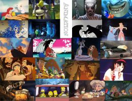 Animation Collage by trevmovie