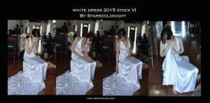White Dress 2015 Stock 6 By Starscoldnight by StarsColdNight