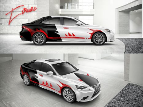 Thrasher Lexus IS 2014 Design by Tibneo by Tibneo
