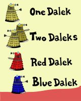 One Dalek, Two Daleks by JaxxReeve