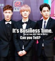 EXO_Business Time_MACRO by dancingdots