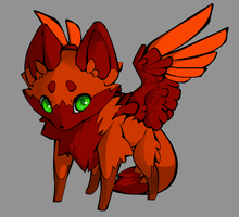 Winged Fox Adopt (8 Points) Open! by Pisces--Dreamer