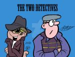 The Two Detectives by Hotsuma1988