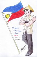 Philippine Independence Day by hirokada