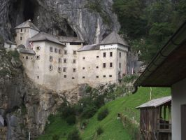 Slovenian Castle on a Cliff by Ungatt