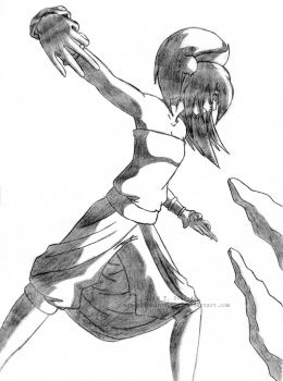 Toph Bei Fong. by TiaVon