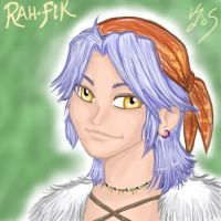 Rah-Fik The Selkie by Doublevisionary