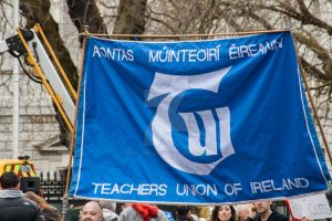 ICTU Protest Dublin XIII by suolasPhotography