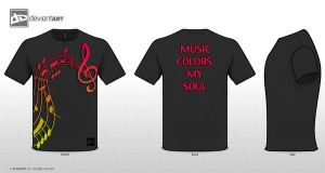 Music Colors My Soul by s3vendays