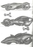 Sketchbook - Car designs by akaga