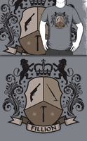 Fillion Character Crest (Redbubble) by armageddon