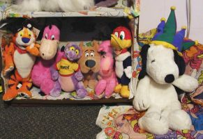 7 Character Plush At Home by toyjunkie1967