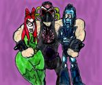 Three Lovable Rogues of Gotham by SonicClone