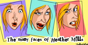 many faces of Heather Mills by therealarien