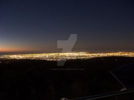 ADELAIDE LIGHTS FROM ABOVE by constllewellyn