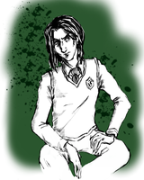 Teen Snape by Devious-Doodles
