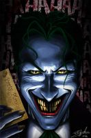 The Joker by Unadon