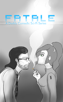 Fatale - Zarian and Juliana Poster by Space-Sweeper