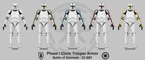 Phase I Clone Trooper Armor by TheMatsuyama