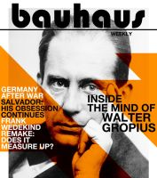 Newspaper project - Bauhaus Weekly by ValencyGraphics