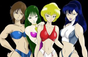 Girls of Southern Cross by Inspector97
