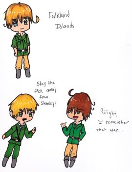 Hetalia: Falkland Islands by graysum
