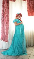 Ariel -  the little mermaid - Pregnant by FrancescaMisa