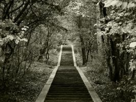 stairway to forgotten by Andyghost