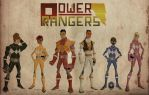Power Rangers Animated by sfriis