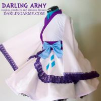 Rarity My Little Pony Cosplay Kimono Dress by DarlingArmy