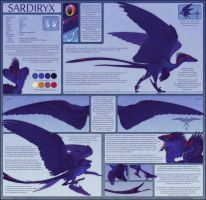 Sardiryx Reference Sheet 2014 by Skysealer