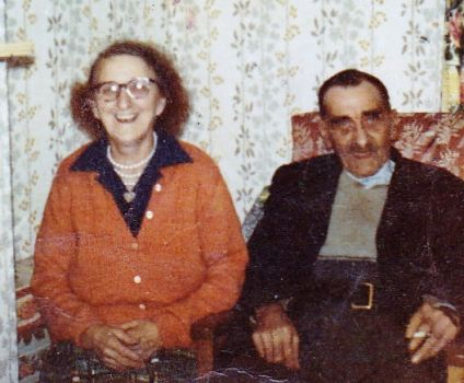 My Paternal Grandparents - Harry and Clara - Mary. by Cuddlepuss