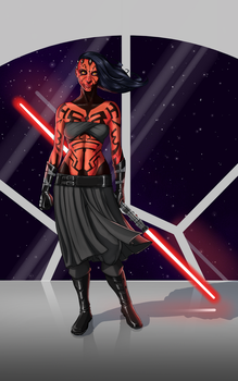 Lady Maul by Nato-VanDookie