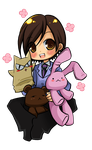 old drawing - Haruhi by Danime-chan
