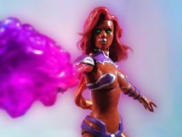 Starfire New52 by mikestimson2003