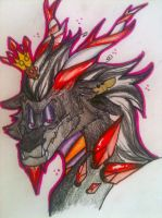 .: Lord Candycane Dragon :. by Silver-HeartCrosser