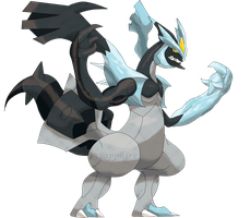 Black Kyurem V2 by Ryan-sprite
