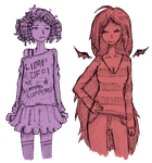 LSP and Marceline by atoms2ashes