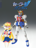 Sailor V Gundam by Siroh32